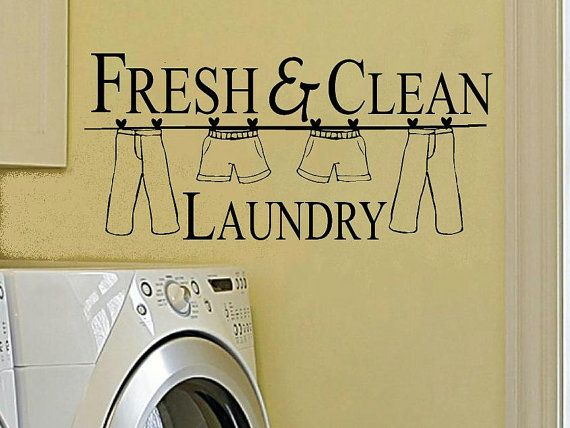 Best Purchase Laundry Room Images On Pinterest Laundry Room - Custom vinyl wall decals sayings for laundry room
