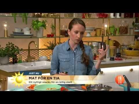 Laga mat för en tia - gryta och snacks - Nyhetsmorgon (TV4) - YouTube