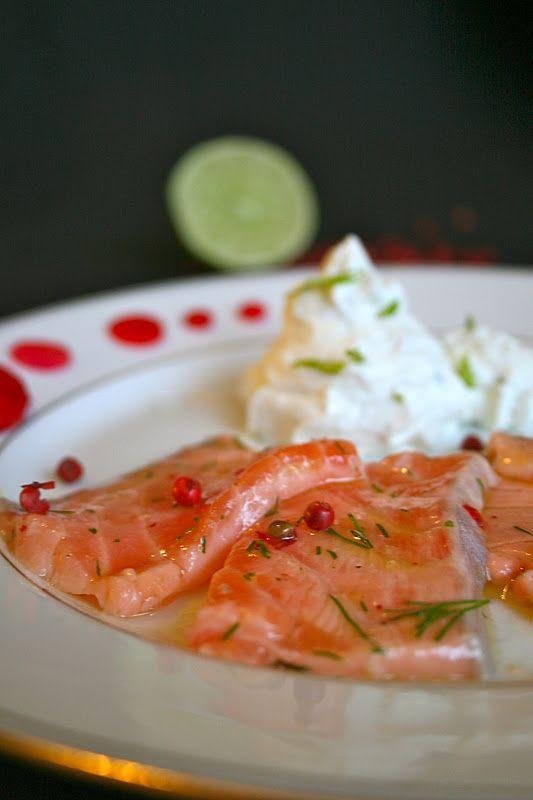 saumon mariné citron vert   Invitations gourmandes