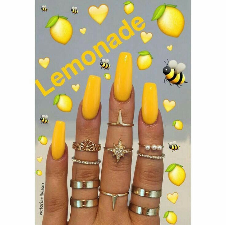 Best 25+ Yellow Nails Ideas On Pinterest