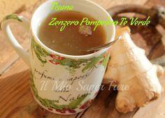 Tisana brucia grassi 1 cucchiaio di tè verde in foglie (o una bustina di tè)-3 fettine di buccia di pompelmo-3 fettine sottili di zenzero fresco-acqua-miele tè verde, pompelmo, zenzero,una tazza acqua fredda e far bollire per circa 5 minuti, in infusione per circa 10 minuti. filtrare e servire caldissima con due cucchiaini di miele
