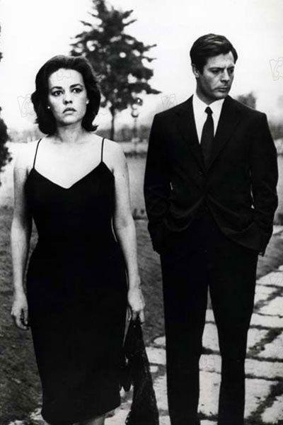 Michelangelo Antonioni Jeanne Moreau et Marcello Mastroianni