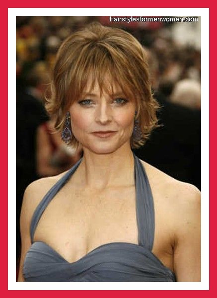 Short Hairstyles For Older Women Short Hair With Layers