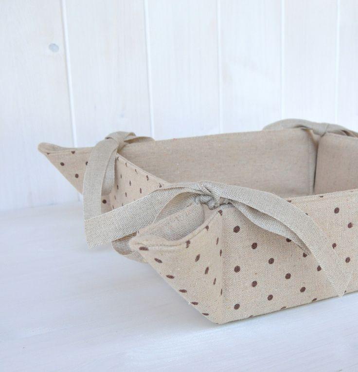 La soffitta dei ghiri: Cestini di stoffa fai da te