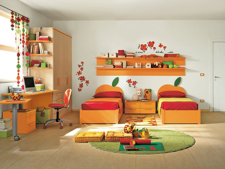 Cameretta per bambini. Bedroom for kids.