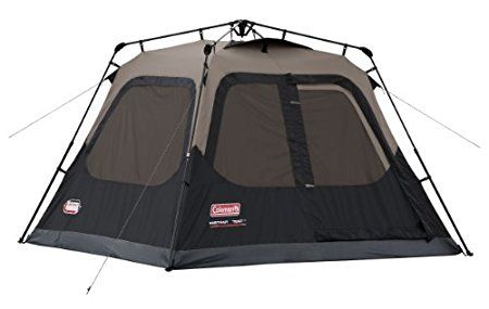 Coleman Instant 4 Person Camping Tent – Under 1 Minute Setup #Camping, #Tents, #CampingTents, #InstantTents