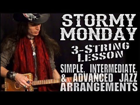 4 string cigar box guitar lessons 1