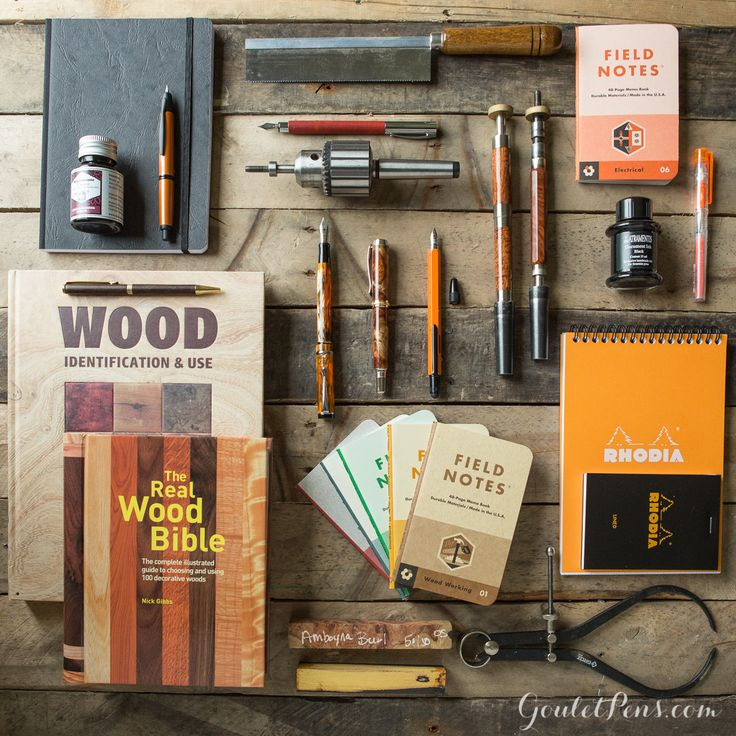 Goulet Pens Blog: Thursday Things: Woodworking