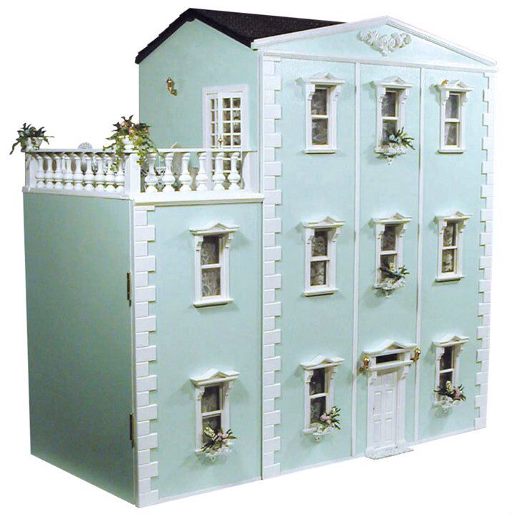 1759 best dollhouses artistic unique images on pinterest for Big modern dollhouse