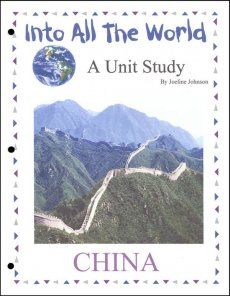 Into All the World Country Unit Studies – The Into All the World Country Unit Studies are Christian-based studies designed to teach your child about different countries around the world.  Suitable for grades 4-6 the different unit studies are available for China, India, Mexico, Russia, and Vietnam.
