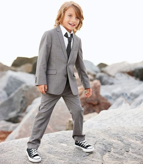 Image result for little boys suits and chuck taylors