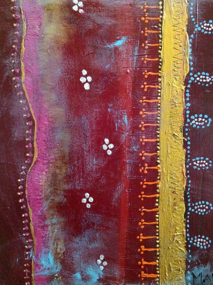 Lost Sari 30cm x 30cm