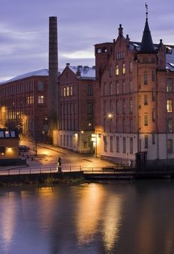 Norrköping is located in the county Östergötland to the east...
