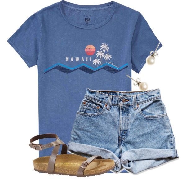 Awesome I wish I could go to Hawaii by flroasburn on Polyvore featuring Mode, Billabong,…
