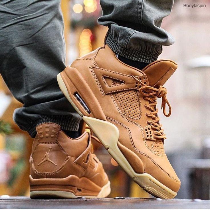 """Nike Air Jordan 4 Pinnacle """"Ginger"""" Find more Retro 4 models at kickbackzny.com."""