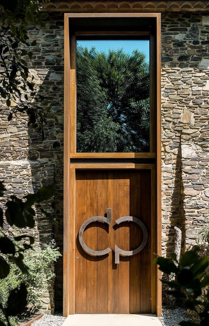 Villa CP / Zest Architecture stone wall with nice wood door & 94 best UCHI like this celebration of entrance images on Pinterest ... Pezcame.Com