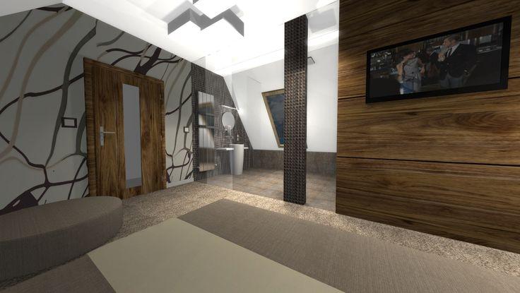 projekt aranżacji salonu foto 2