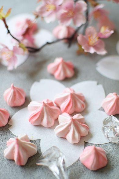「春爛漫☆桜メレンゲクッキー」hitomi | お菓子・パンのレシピや作り方【corecle*コレクル】
