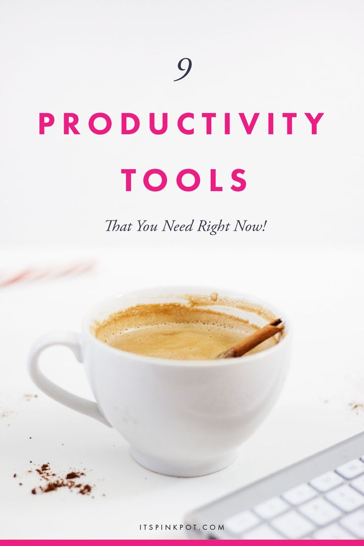 Productivity-tools-entrepreneurs-bloggers