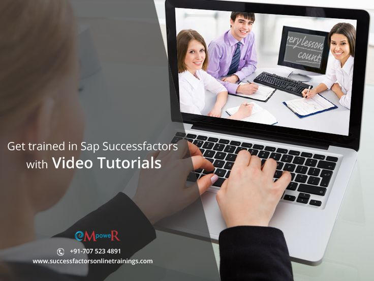 Our training includes #videotutorials which lets you learn anywhere and anytime. So now don't worry about missing any session join us and learn #sapsuccessfactors. https://goo.gl/LPIMby
