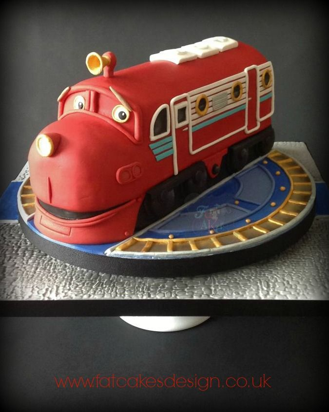 Chuggington cake. Wilson from chuggington.