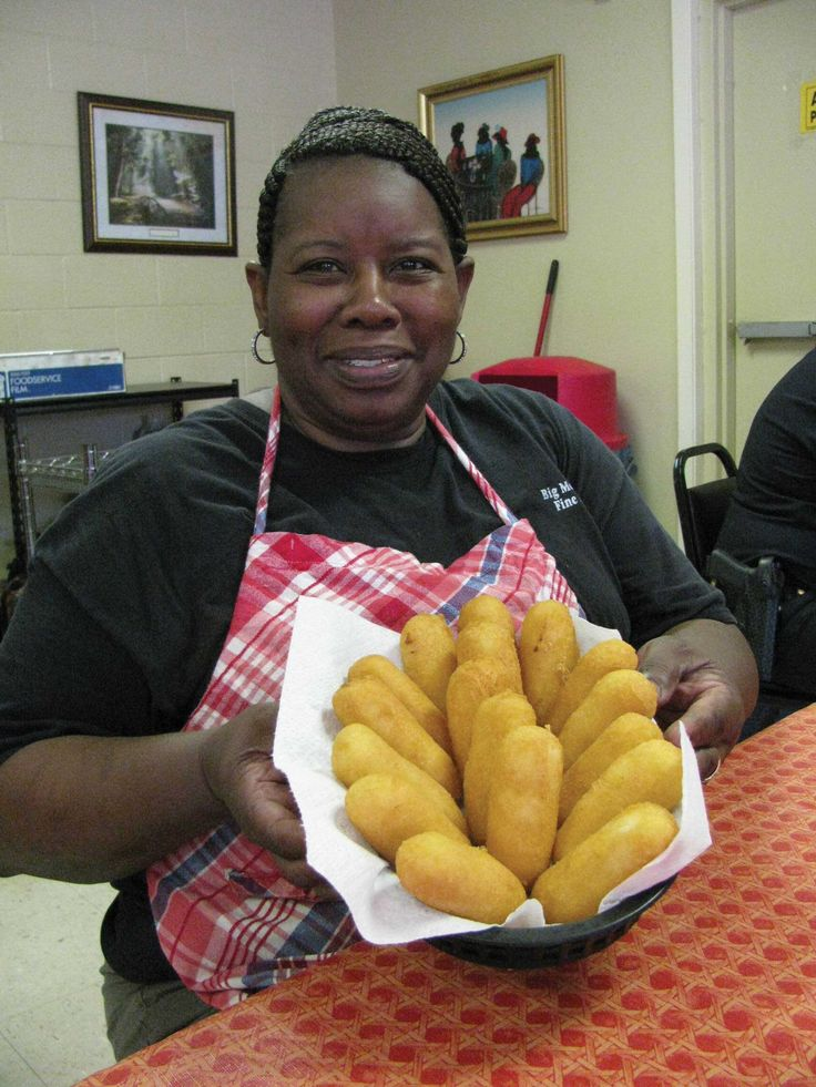 Dont miss the hotwater cornbread at big mommas fine