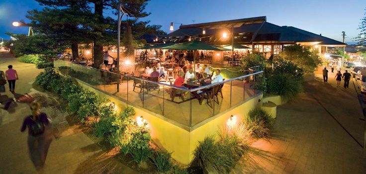 Beach Hotel, Byron bay.  A must-visit while you are here, just to say you've been!