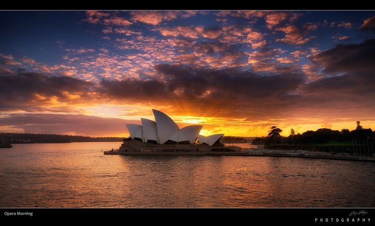 Opera Morning - ~taken back on March 18th  So it's almost the end of day light savings and the clocks have to go back an hr on April 1st. Boo. But what that means for now is that we're getting nice late sunrises - SO I thought I'd take advantage of the 7am sunrise luxury and head down to Circular Quay for a shot of the, 'never-before-photographed' Sydney Opera House...  It's only fair really - I mean, the thing is pretty cool and it does make for some great shots...  I've decided that ...