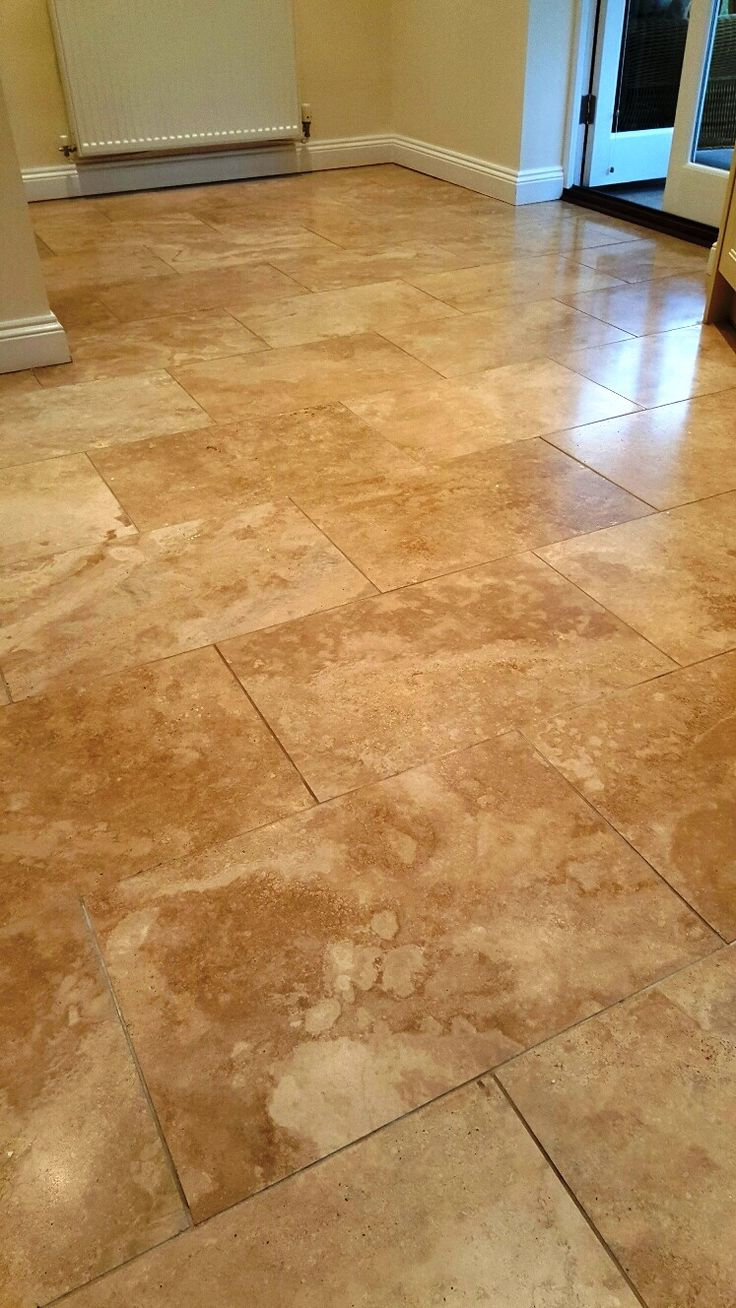 45 best travertine tile cleaning images on pinterest cleaning this fantastic travertine tiled kitchen floor was in a bad way not only had it dailygadgetfo Images