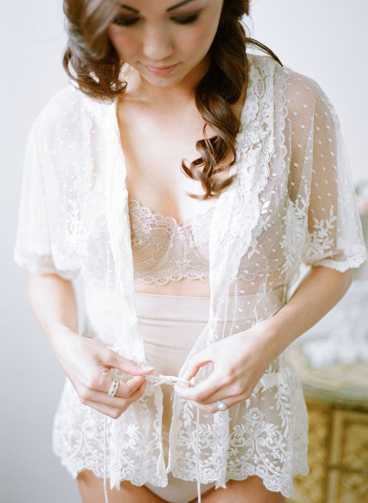 Romantic Boudoir / Getting Ready Inspiration on SMP. See more here: http://www.StyleMePretty.com/2014/05/20/styled-shoot-full-of-romance-whimsy-in-portland-oregon/ Photography: TaraFrancisPhotography.com + BunnSalarzon.com