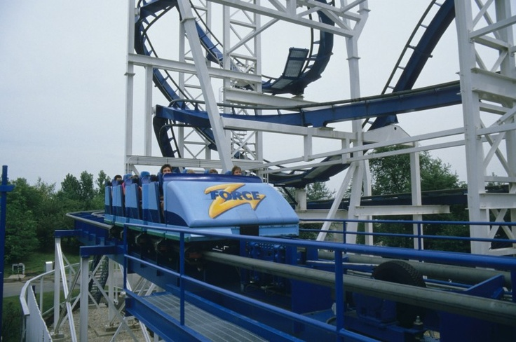 ZForce (Six Flags Great America) Roller Coasters