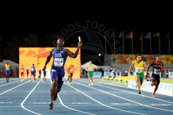 IAAF-Barbados takes silver in men's 4x100m relay - https://www.barbadostoday.bb/2017/04/23/iaaf-barbados-takes-silver-in-mens-4x100m-relay/