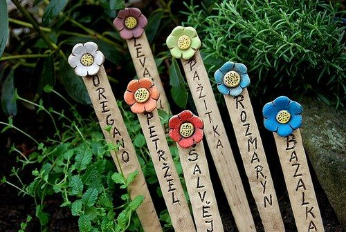zápichy na bylinky-kytičkové