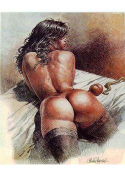 Silouhette erotique