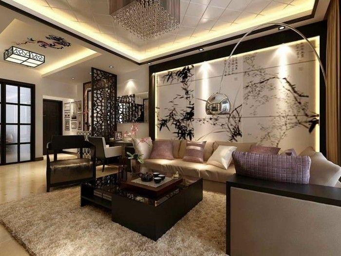 ... homeaccesoriesideas.com/wandgestaltung-mit-farbe-wohnzimmer-grun.html