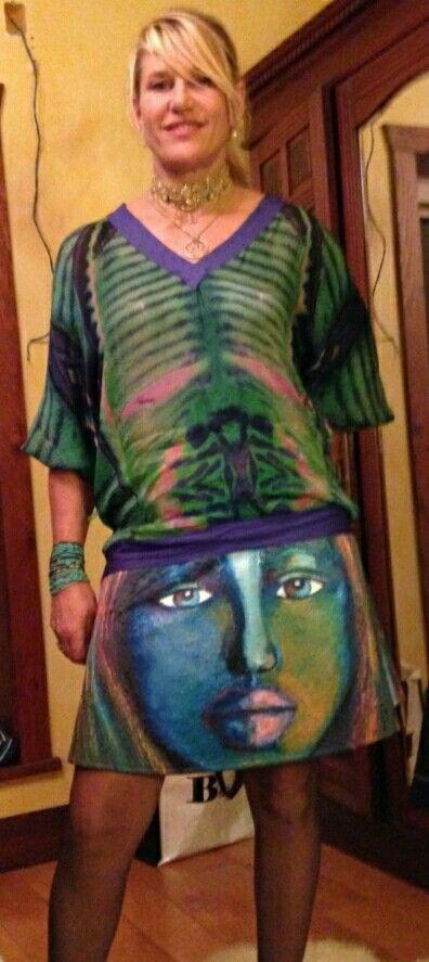 Anelia-art skirt youth