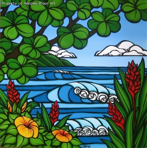 Heather Brown (Tropical Paradise). Can you tell I love just about everything she paints?