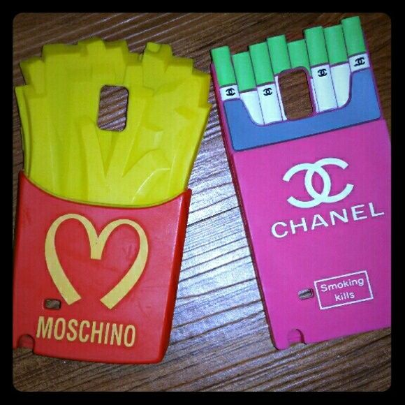 Samsung Galaxy Note 4 Case Moschino and/or Chanel inspired phone cases Great Used Condition  1 for $17 or 2/ $30 OBO Accessories Phone Cases