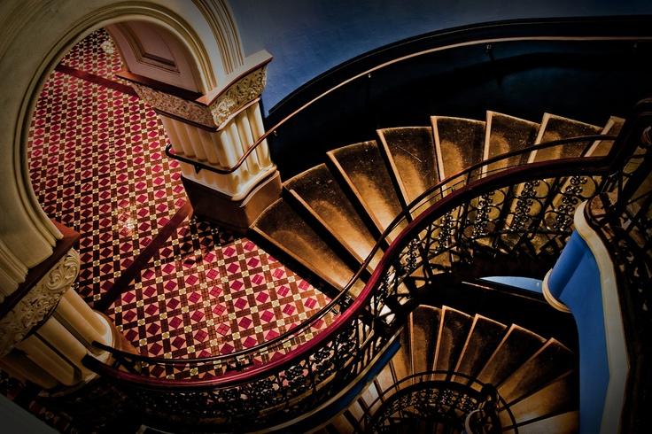 QVB stairs