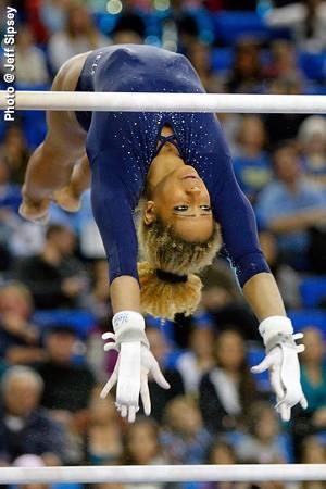British gymnast Danusia Francis