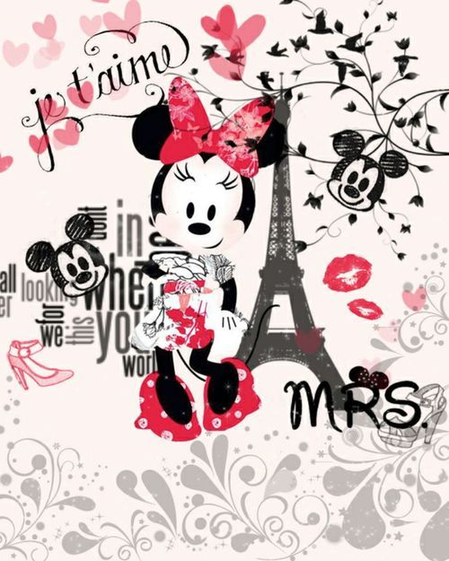 Imagen de paris, minnie, and disney
