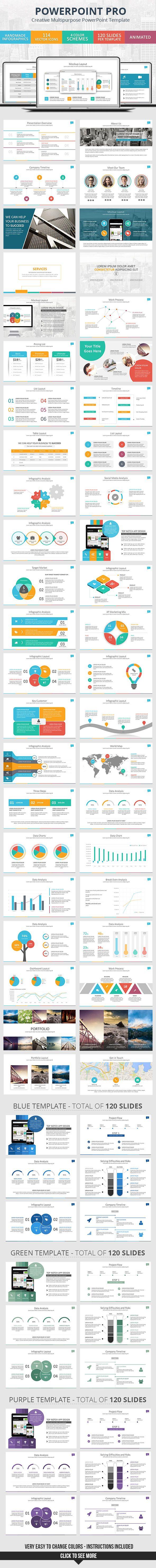 PowerPoint Pro – Presentation Template #design Download: http://graphicriver.net/item/powerpoint-pro-presentation-template/12105282?ref=ksioks