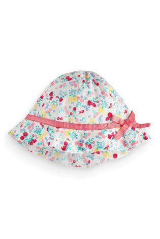 Next Ditsy Print Fisherman's Hat (0-18mths)