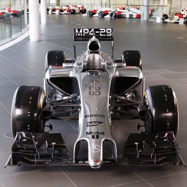 McLaren Formula 1 2014 - McLaren Mercedes MP4-29 my personal favourite team but not quite the best :(