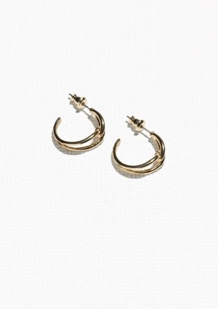 & Other Stories | Infinity Earrings