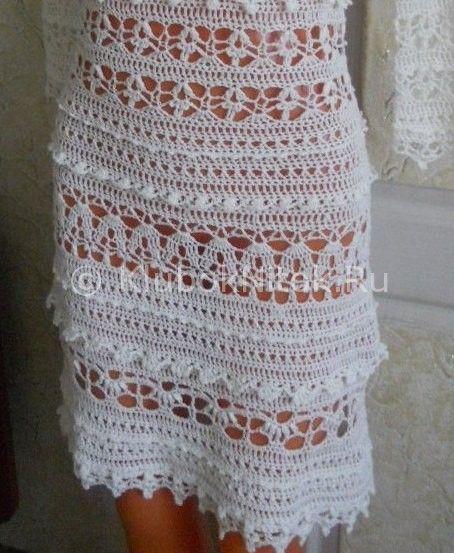 Шикарное платье от автора. | Вязание для женщин | Вязание спицами и крючком. Схемы вязания.