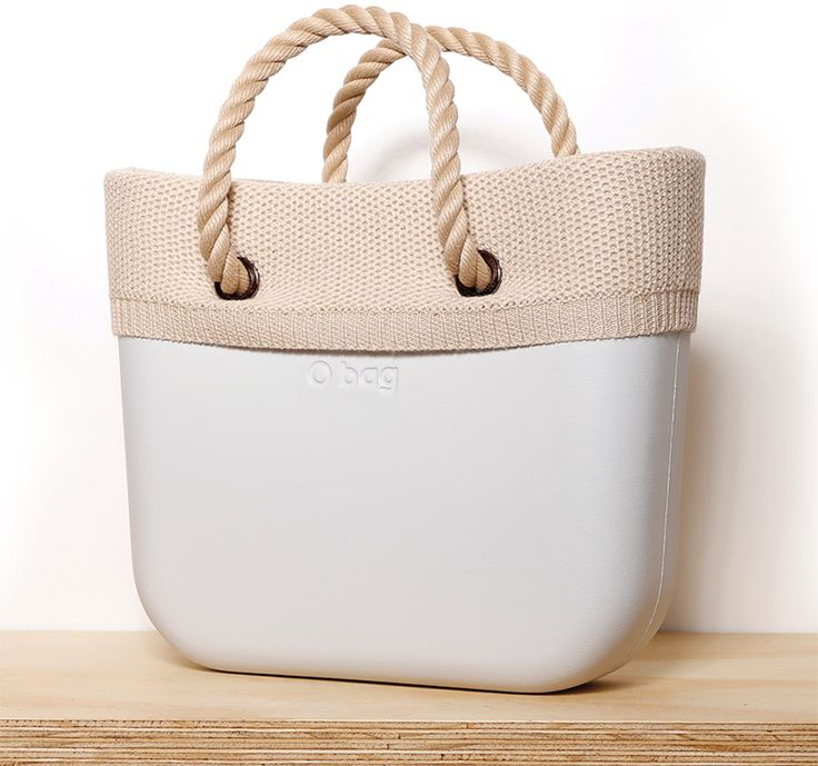 O bag Mini wool trim - Italian handbag