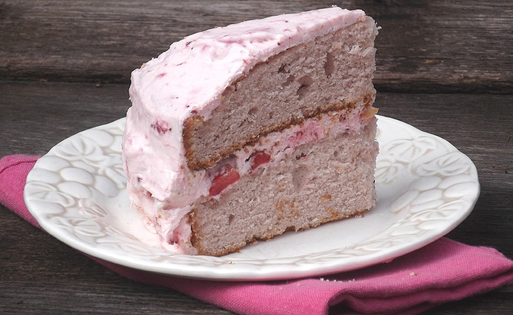 Strawberry Dream Cake from America's Test Kitchen
