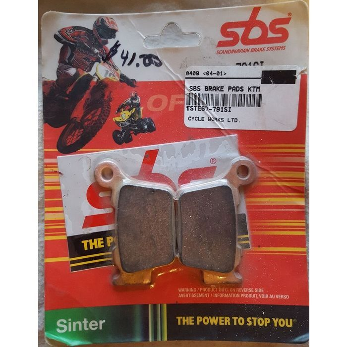 SBS Sinter Brake Pads 791SI KTM EXC SX 525 450 400 300 250 200 125 Husqvarna TC Listing in the Brake Pads,Brakes & Suspension,Motorcycle Parts,Motorcycle & Scooter Parts & Accessories,Parts & Accessories,Cars & Vehicles Category on eBid Canada | 156138590 CAN$ 25.00 + Shipping
