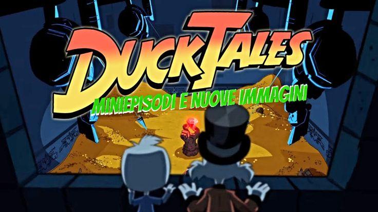 DUCKTALES 2017: look dei personaggi e tre minivideo! In questi giorni, dopo un lungo periodo di silenzio, la Disney ha rilasciato ben tre promo animati che svelano di più sulla nuova serie DuckTales - Avventure di Paperi. Non un sequel della vecchia s #ducktales #disney #cartoon #serietv
